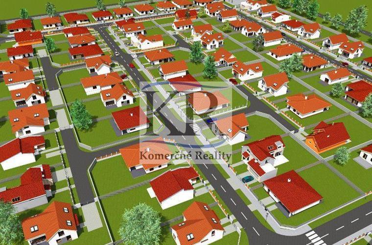 Pozemek pro rodinné domy, Prodej, Dolná Krupá - Potôčky