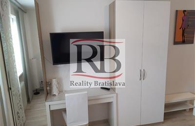Garsónka, Prenájom, Bratislava - Nové Mesto - Bartoškova