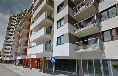 2-izb. byt, Prenájom, Bratislava - Ružinov - Jégého - JEGEHO ALEJ nejnovejší budova