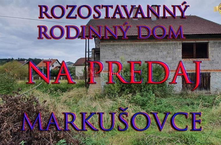 Rodinný dům, Prodej, Spišská Nová Ves - Markušovce