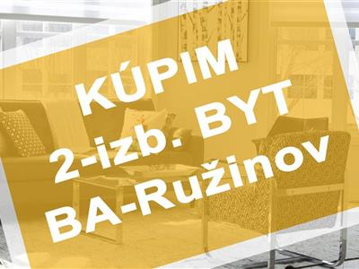 2-izb. byt, Kúpa, Bratislava - Ružinov - Ružinov