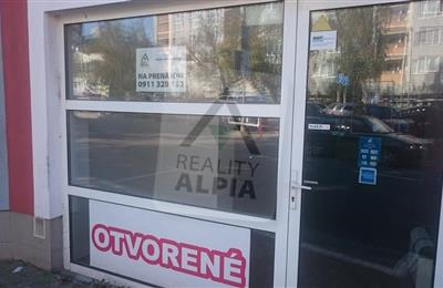 Geschäftsräume, Vermietung (Angebot), Prievidza