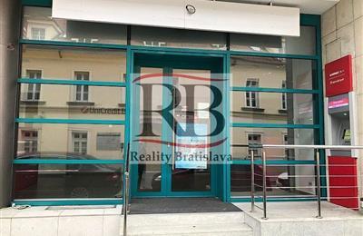 Obchodní prostory, Pronájem, Bratislava - Staré Mesto - Panenská