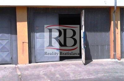 Skladovací objekt, Pronájem, Bratislava - Ružinov - Trenčianska