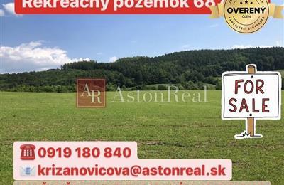 Recreational lot, Sale, Horná Breznica