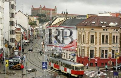 Obchodní prostory, Pronájem, Bratislava - Staré Mesto - Obchodná