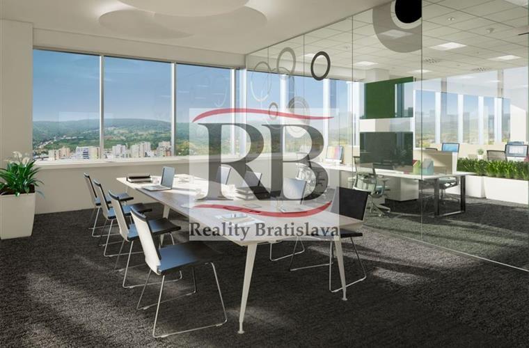 Büros, Verwaltungsräume, Vermietung (Angebot), Bratislava - Nové Mesto - Vajnorská