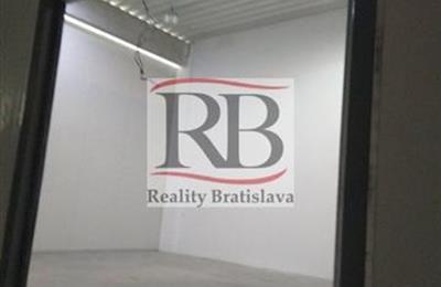 Prostor pro sklad, Pronájem, Bratislava - Nové Mesto - Stará Vajnorská
