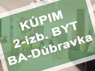 2-izb. byt, Kúpa, Bratislava - Dúbravka - Dúbravka
