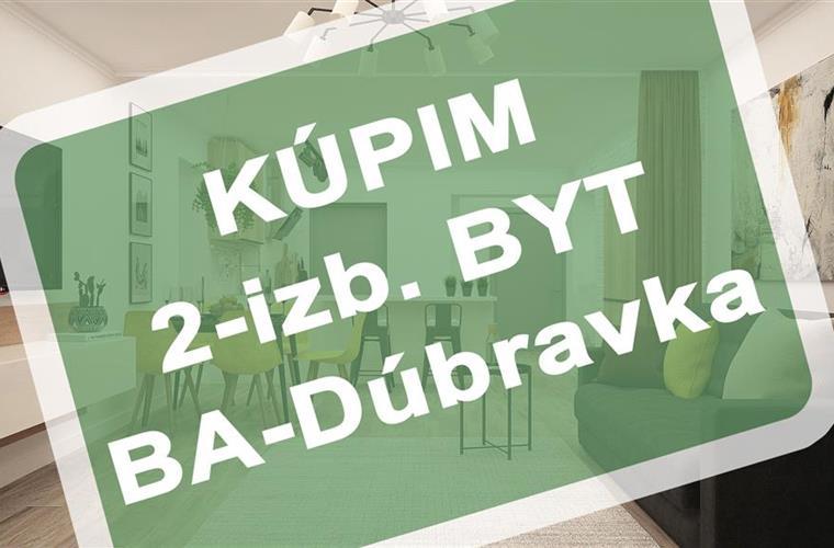 Byt 2+1, Koupě, Bratislava - Dúbravka - Dúbravka