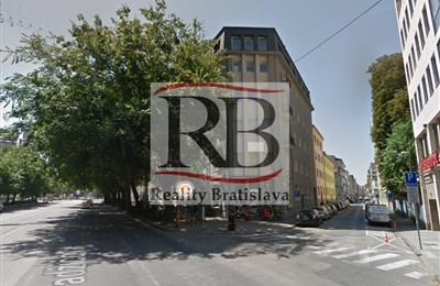 Büros, Verwaltungsräume, Vermietung (Angebot), Bratislava - Staré Mesto - Grösslingova