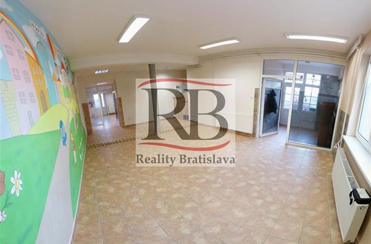 Obchodní prostory, Pronájem, Bratislava - Nové Mesto - Kominárska