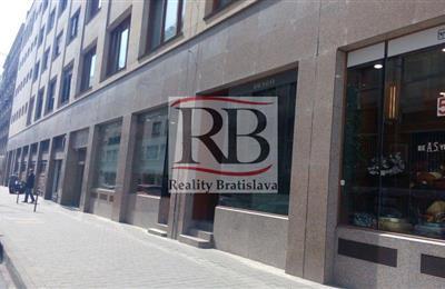 Obchodní prostory, Pronájem, Bratislava - Staré Mesto - Gorkého