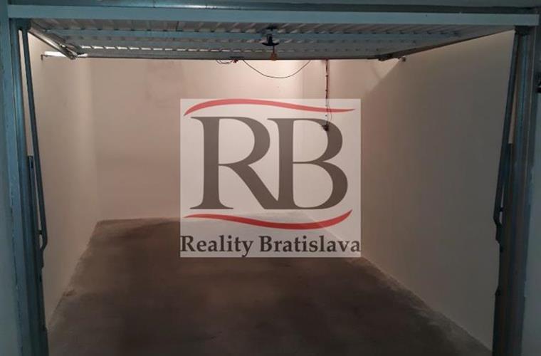 Garáž jednotlivá, Prodej, Bratislava - Karlova Ves - Hlaváčikova