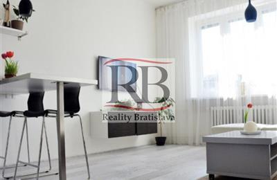 Byt 2+1, Pronájem, Bratislava - Nové Mesto - Osadná