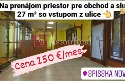 Objekt pro obchod, Pronájem, Spišská Nová Ves - Hviezdoslavova - Hviezdoslavova