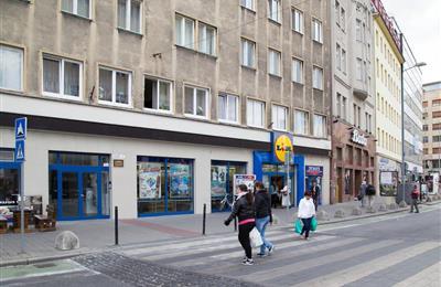 1-Zimmer-Wohnung, Verkauf (Angebot), Bratislava - Staré Mesto - Dunajská - Dunajská ulica pri LIDLI Kamenné námestie